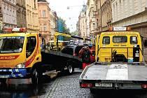 Při blokovém čištění hrozí některým řidičům odtah