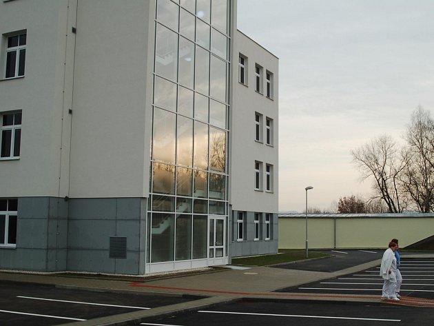 Nový pavilon psychiatrie a rehabilitace v Nemocnici Ostrov.