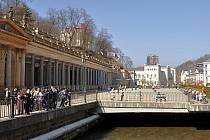 Pod ochranou. Karlovarské kolonády zařadil magistrát na zápis do UNESCO. Nyní chce chránit i léčivé prameny.