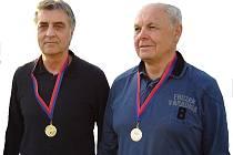 Mistr republiky Jiří Mácha (vlevo).