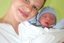 Vašík Koštial z Bochova se narodil 14. 6. 2012