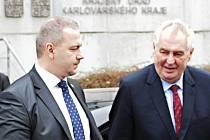 Miloš Zeman byl na třídenní návštěvě Karlovarského kraje.