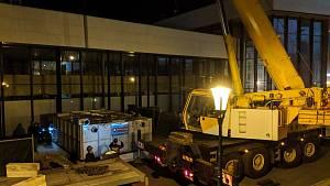 Do konce letošního roku by měla být dokončena rekonstrukce Vřídelní kolonády