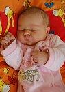 Sofinka Langhammerová z Kraslic se narodila 11. 12. 2012