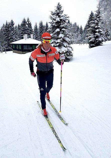 Kateřina Smutná by ještě jednou chtěla celkově vyhrát  Visma Ski Classics.