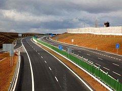 Silnice R6 Lubenec - Bošov.