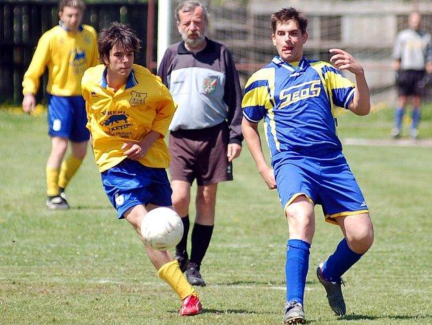 Ve 22. kole III. fotbalové třídy uspěl na domácí půdě celek Abertam, který si poradil s nováčkem soutěže Děpoltovicemi v poměru 3:0.