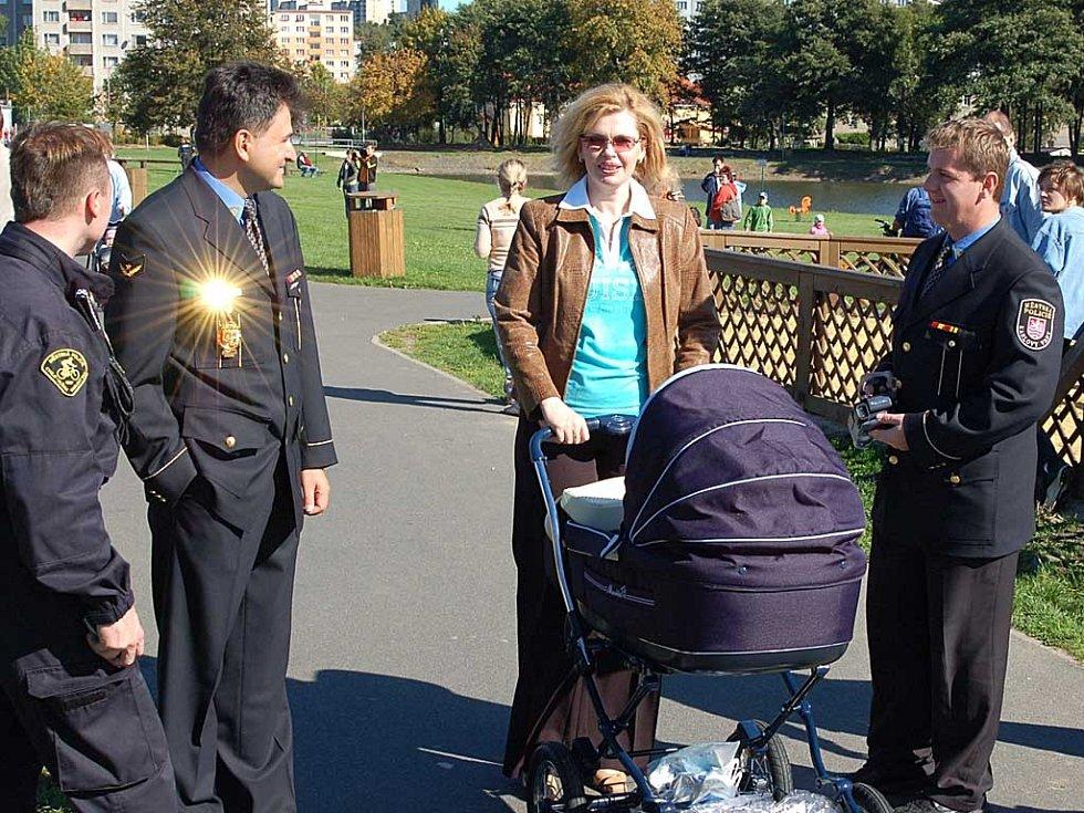 V sobotu se na Rolavě konal Den s městskou policií.