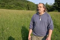 Archeolog Jiří Klsák