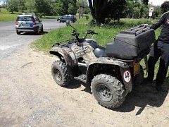 Policie se zaměřila za řidiče čtyřkolek a motorek.