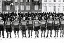 Karlovarský zimní stadion v 50. letech minulého století