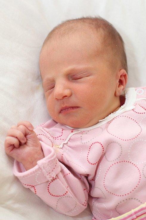 Laurinka Koudelová z Chyše se narodila 17. 11. 2012