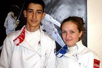 Martin Rubeš a Natálie Ondráčková