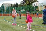 V BOCHOVĚ bylo v úterý slavnostně otevřeno nové multifunkční hřiště u zdejší základní školy.