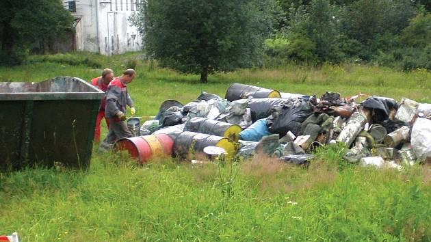 Nebezpečný odpad.