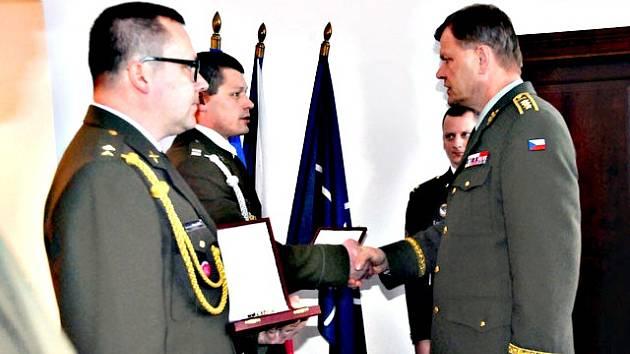 Ocenění vojáci