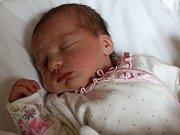 KRISTÝNKA VEVERKOVÁ z Karlových Varů se narodila 26. 7. 2017