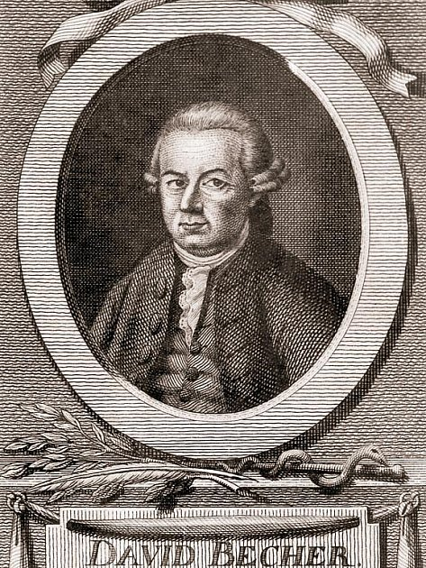 Dr. David Becher (1725—1792)