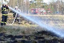 V Karlovarském kraji je extrémní nebezpečí vzniku požárů.