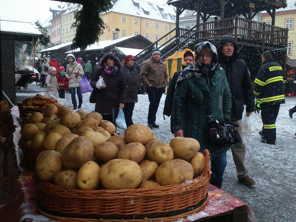 Vánoční trhy v Chebu