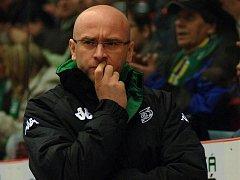 V utkání s Budějovicemi si úspěšnou premiéru v roli hlavního kouče Energie odbyl Pavel Hynek.