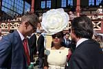 Setkání šlechty v Karlových Varech mělo na programu i tradiční dostihový den.