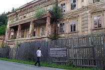 Lázně Kyselka v srpnu 2011