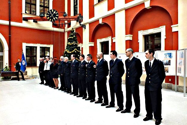 Ostrovští dobrovolní hasiči