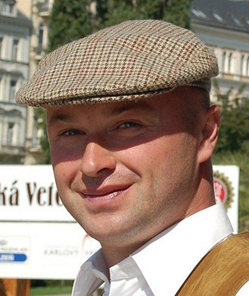 Michal Krula,hlavní pořadatel Veterán rallye v Karlových Varech