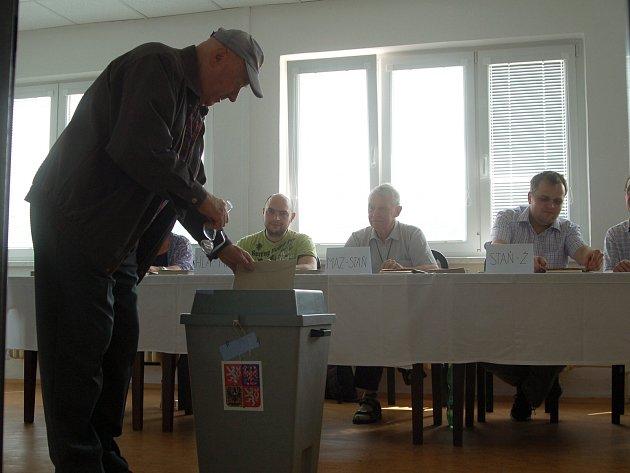 V Karlovarském kraji bylo nejlepší hnutí Ano, účast lidí ale byla slabá.
