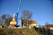 Kostel Nanebevzetí Panny Marie v Kozlově - nová věž