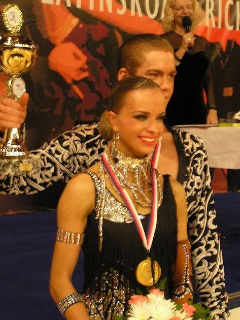 MISTŘI REPUBLIKY. Lenka Návorková a Jakub Drmota uspěli na soutěži v Praze.