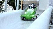 Wintersport Altenberg - ledový kanál.