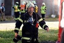 Z mezinárodního hasičského cvičení v Potůčkách.