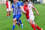Nutsu Stan (v pruhovaném), FK Ostrov.