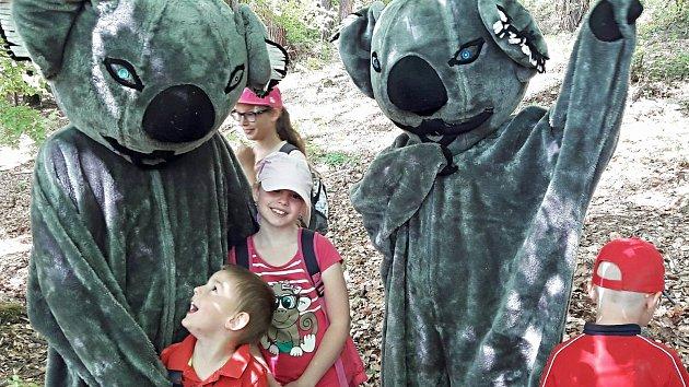 Uspat krušnohorské medvědy, to chce i kus odvahy. Dětem zjevně nechybí.