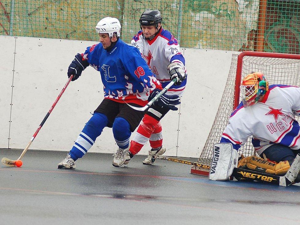 Zápas CSKA - Litice.
