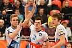 Karlovarsko se loučilo se svými fanoušky v rámci domácí extraligové derniéry roku 2019 výhrou nad Ostravou 3:2 na sety.