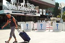 CENTREM karlovarského festivalového dění bude, jako už v minulosti mnohokrát, hotel Thermal a jeho projekční sály.