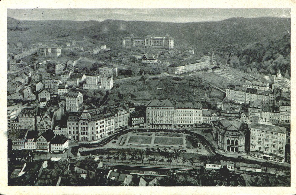 Nejen hotel Imperial na starých fotografiích.