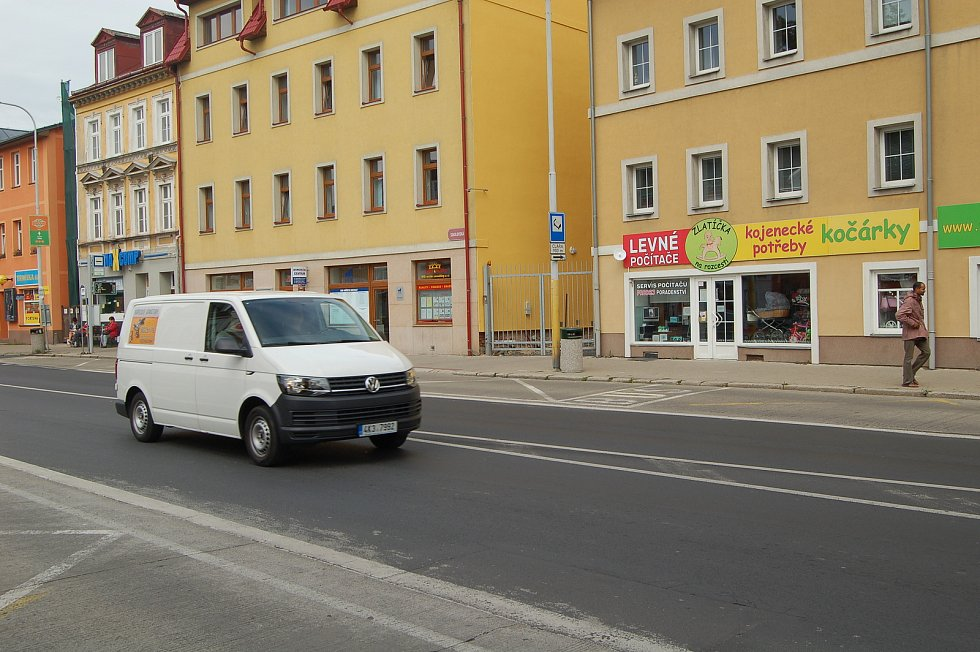 Velmi frekventovaná lokalita U Koníčka.