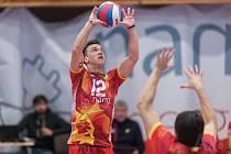 Nahrávač Martin Kočka (na snímku) posílil před novou sezonou VK ČEZ Karlovarsko.