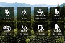 Běhej lesy mění termínovku, přesouvá závody.