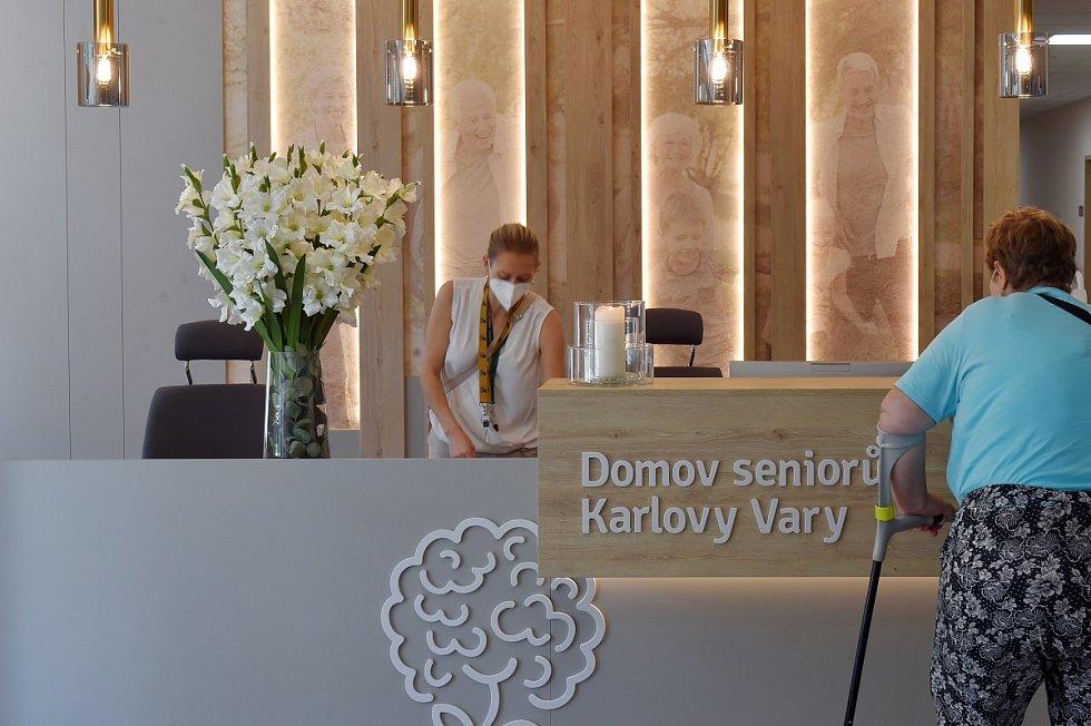 Domov seniorů v Karlových Varech.