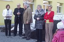 Nové prostory Mateřské školy Jáchymov se slavnostně otevřely k velké radosti dětí i vedení města.