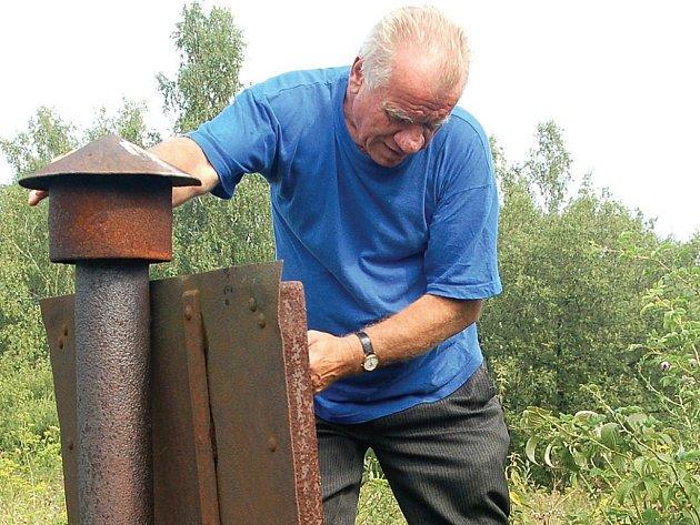 Ján Kokolus se stará o vodojem už 40 let. Nyní dostal výpověď.