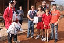 Stříbro vybojovali žáci Liaporu na finále v Plzni.