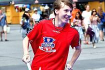 Ondřej Ančinec předvádí v trikotu FB Hurrican Karlovy Vary již deset let velmi dobré výkony.