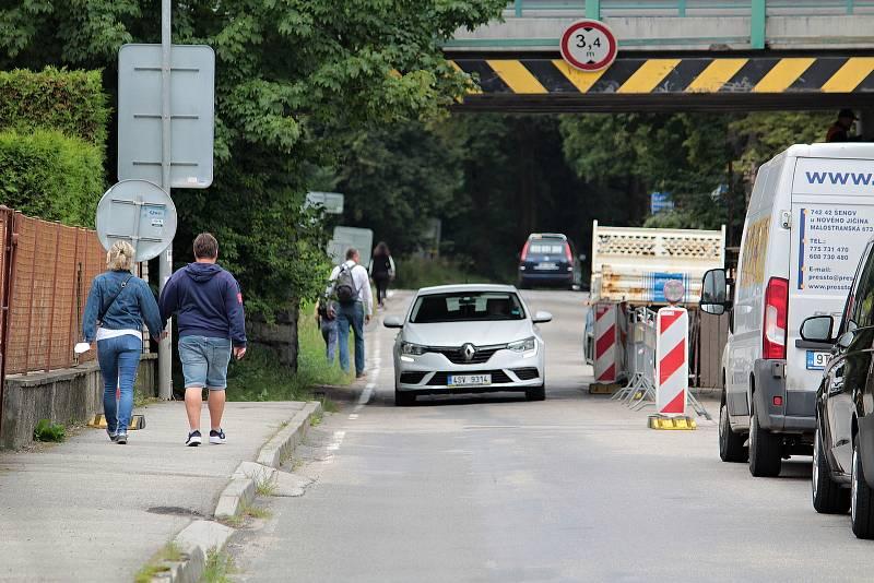 Oprava mostů na silnici I/3 v Benešově - Konopišťská ulice.