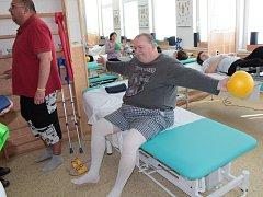 Otevírání nového lůžkového oddělení následné rehabilitační péče.